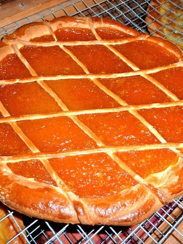Tarte au corin d'abricots