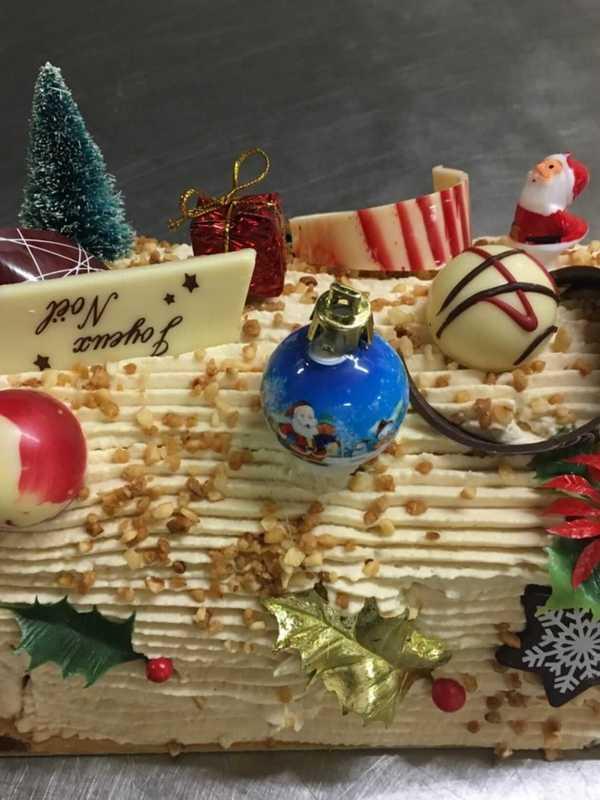 Kerstgebak met praliné